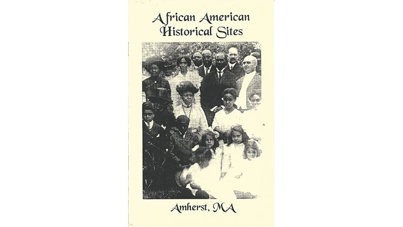 African American Historical Sites, Amherst MA-book