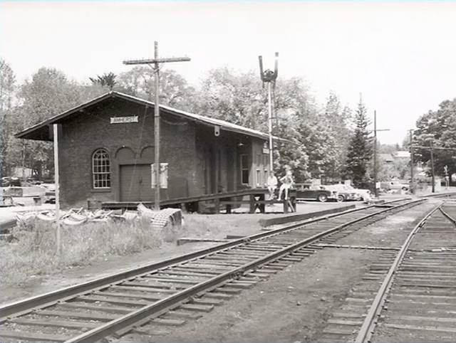 Amherst Rail station