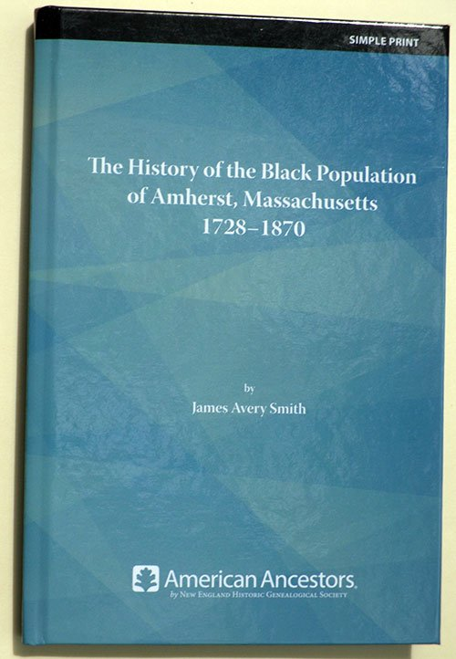 History of the Black Population of Amherst - book