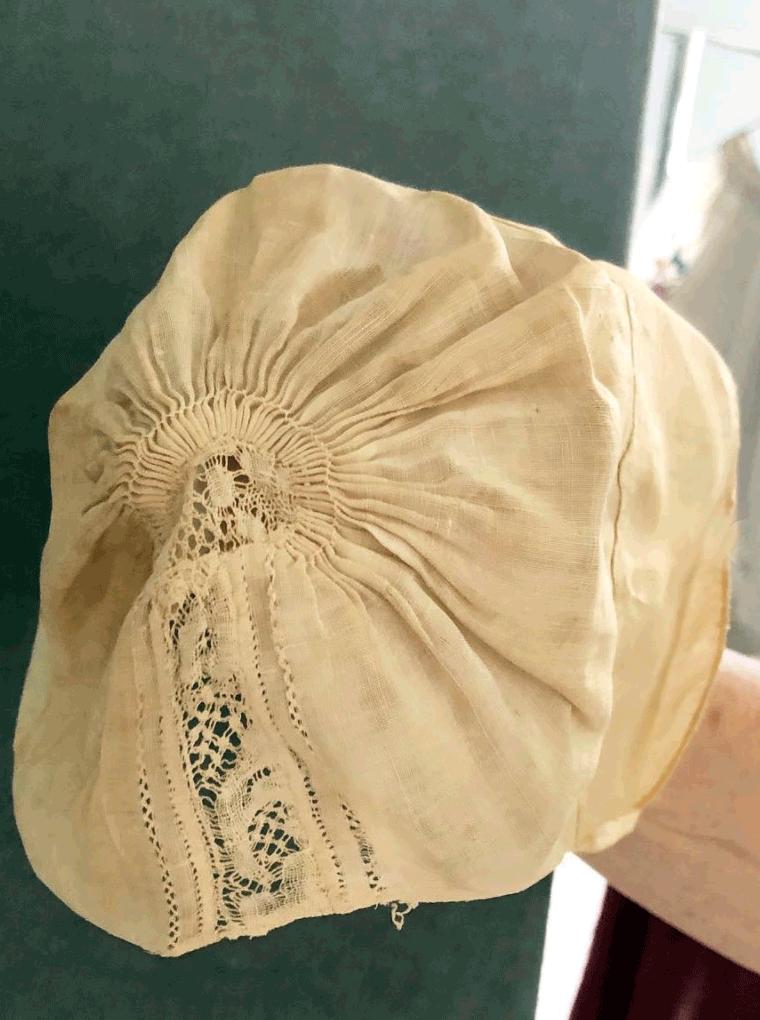 Infant's Linen Cap