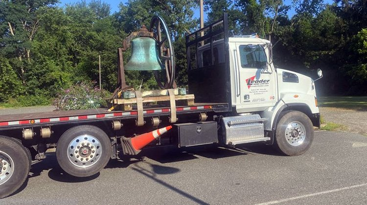 Historic Church Bell Arrives!
