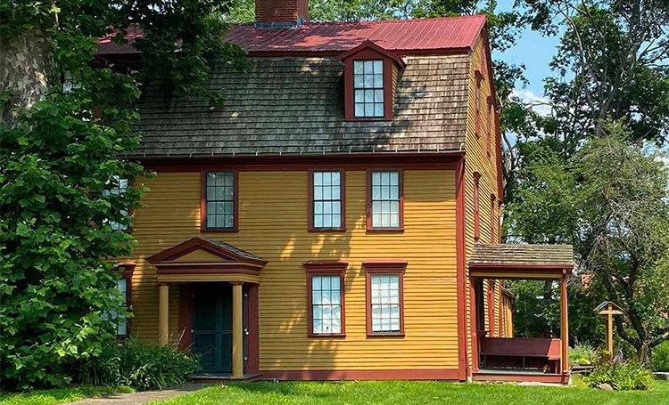 Simeon Strong House